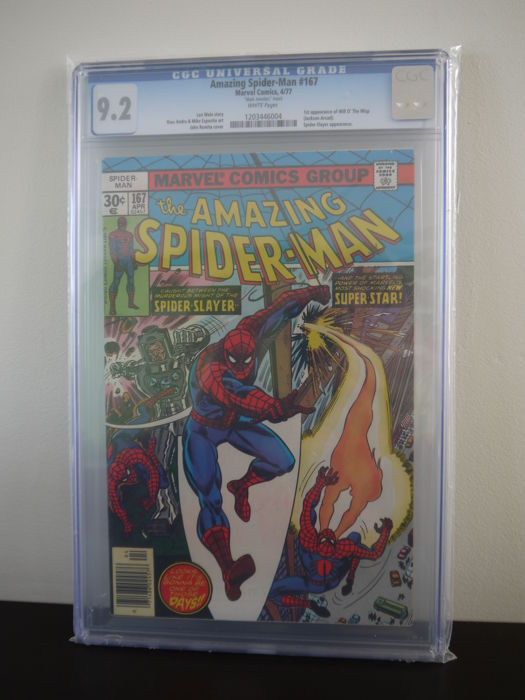 Amazing Spider-Man #167 - CGC Graded 9.2 (1977)