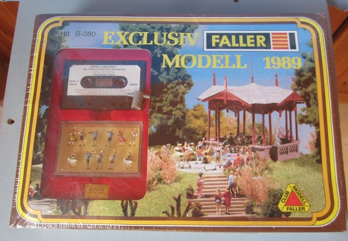 Faller H0 - B-380 - Attachments - Exclusiv Modell 1989 'Musikpavillon Lahr'