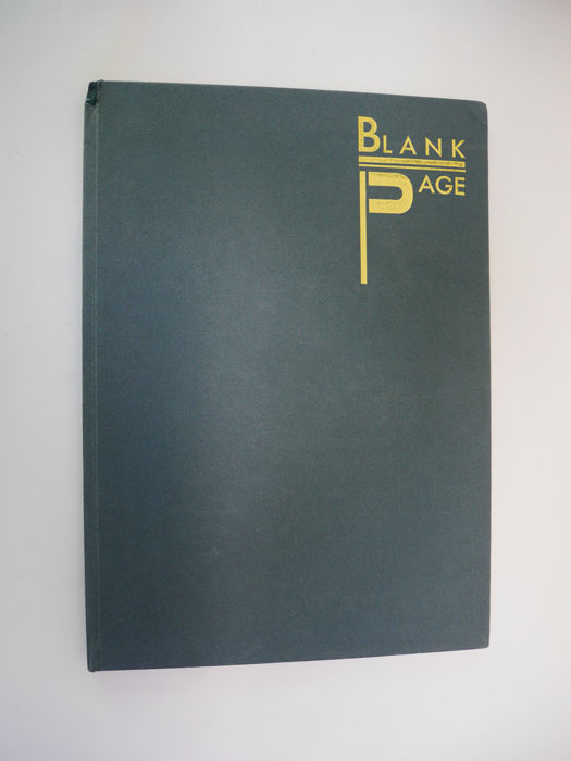 Blank Page number 1  - 1988