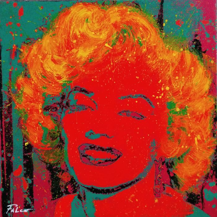 Joaquim Falcó      - Marilyn Monroe in red