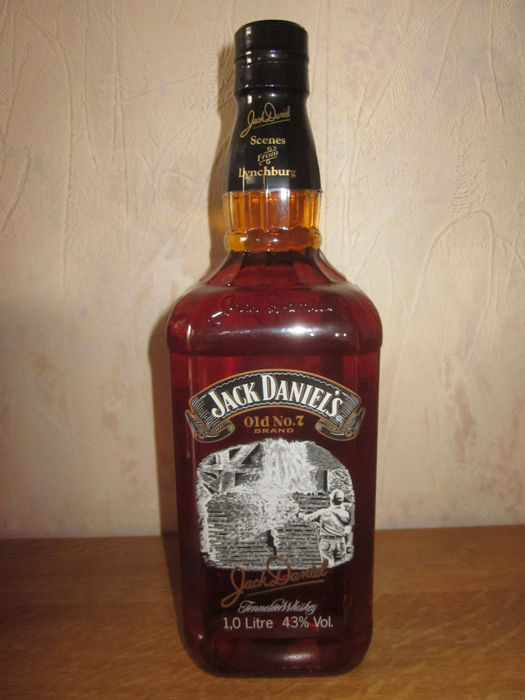 Jack Daniel's - Scenes from Lynchburg (number 8 - the charcoal maker) - 1 liter