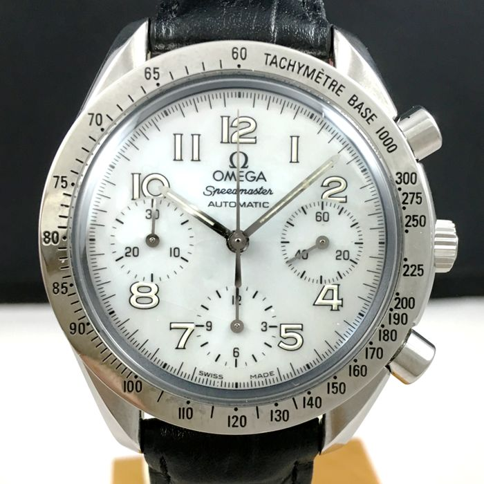 Omega - Speedmaster Reduced Mother Of Pearl Chronograph  - Men - 2000-2010