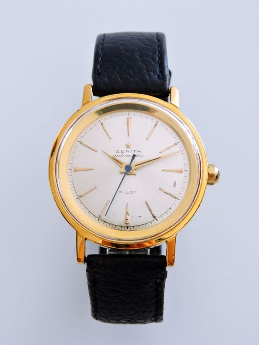 Zenith - 133.8 - Automatic BUMPER Antique & Vintage Men's Watch - Heren - 1950-1959