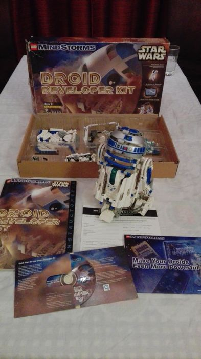 Star Wars - 9748 + 8007 + 8010  - Mindstorms Droid Developer Kit + Technic C-3PO + Technic Darth Vader