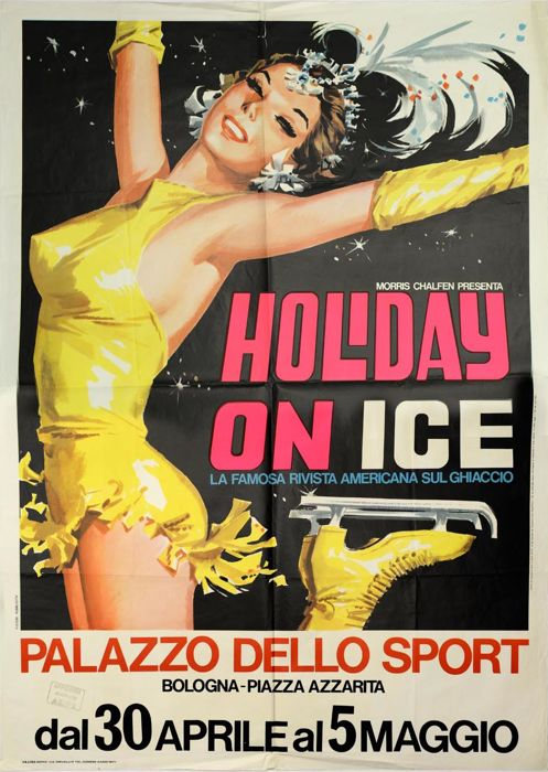 Anonymous - Holiday on Ice, Bologna - 1971