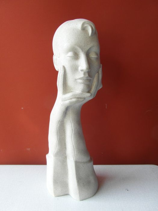 Mannequin bust, France, second half of the 20th century
