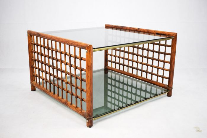 Unknown designer - Bamboo coffee table