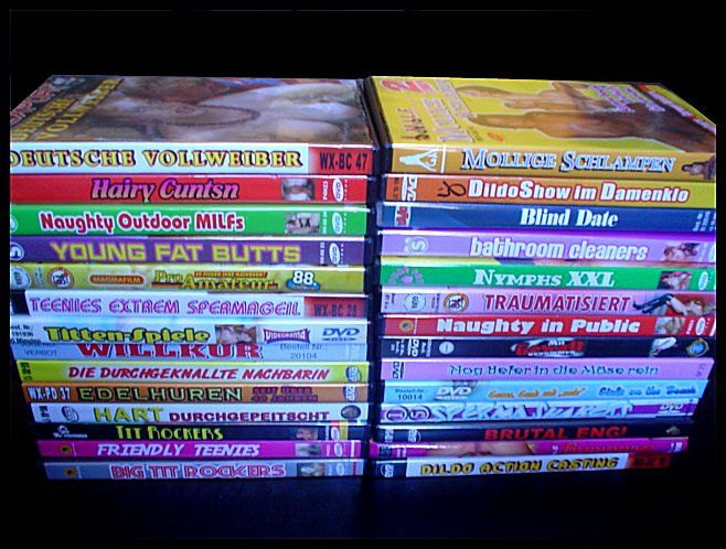 DVD; Lot met 28 porno films - 1995/2006