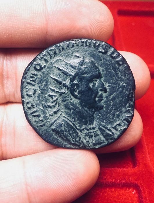 Roman Empire - Trajan Decius (249–251  AD) Double Sesterce