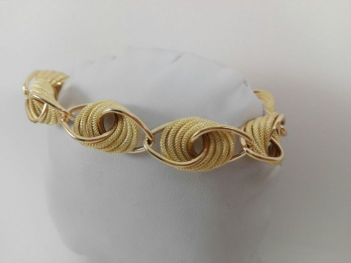 UnoAErre - Women's 18 kt yellow gold bracelet Weight: 25.5 g