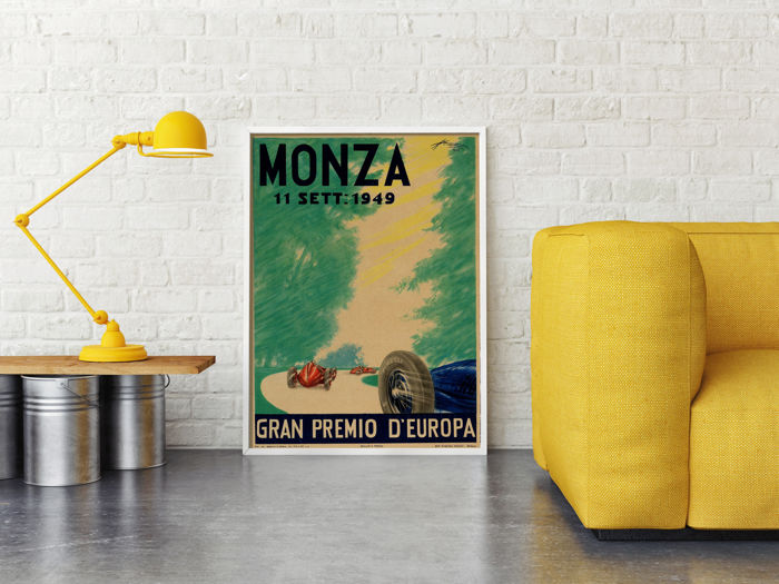 POST - Poster Of Monza 1949 Formula One GP