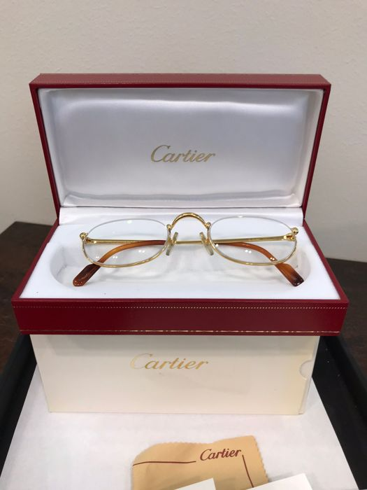 32f101f34b Cartier - Trinity Demi Lune T8100347 - As new Glasses - Vintage ...