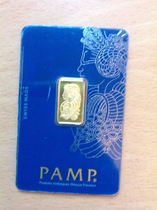 PAMP Suisse - 2.5 g - 999.9 - Gold Bar - Minted - Sealed