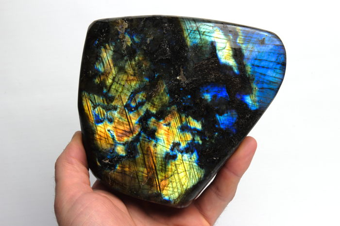 Good Highest Quality Labradorite freeform - 17 x 15 cm - 1620 gram