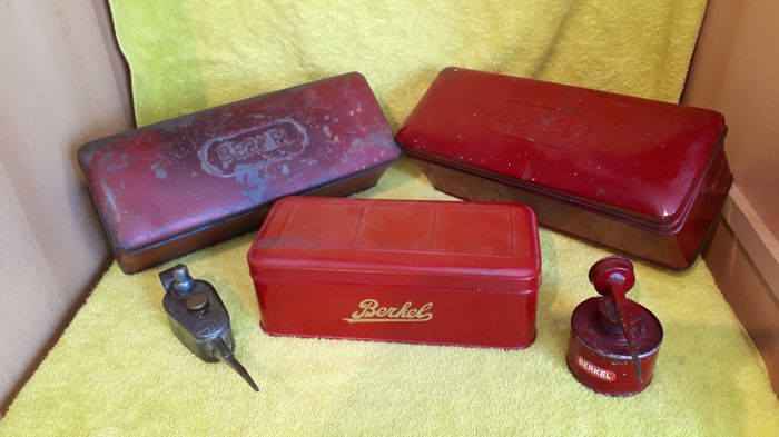 Five original Berkel items