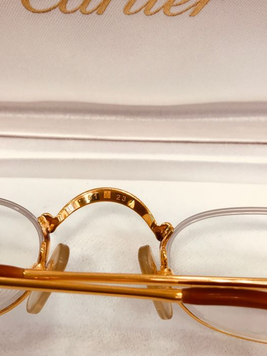 cb9745496b Cartier - Trinity Demi Lune T8100347 - As new Lunettes - Vintage ...