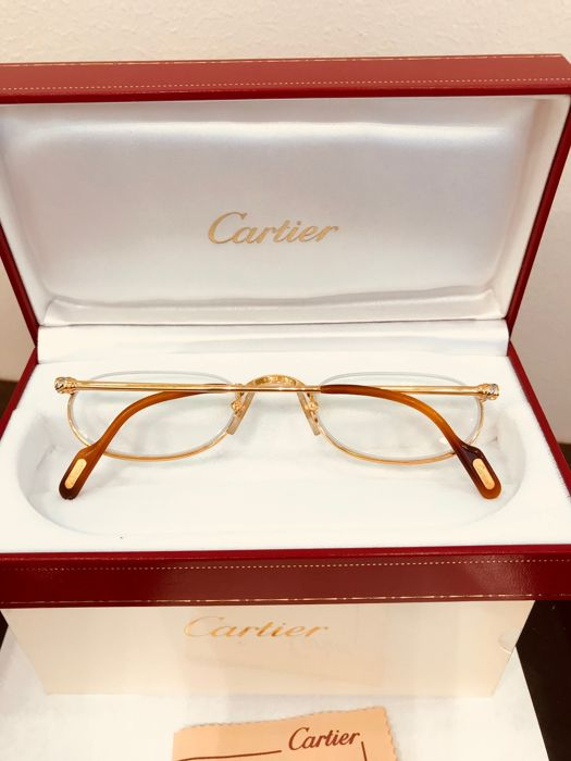 bcf7bf6d7e Cartier - Trinity Demi Lune T8100347 - As new Glasses - Vintage ...