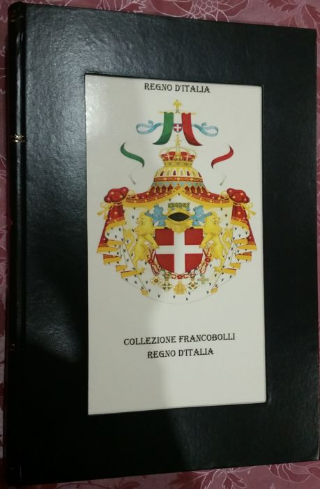 Accessories - Album for Kingdom of Italy, Social Republic, Lieutenancy and Services stamps