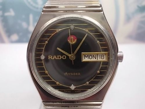 Rado - Voyager - model no. 636.3487.2 - Heren - 1970-1979