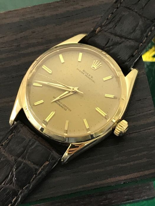 Rolex - Oyster Perpetual 18K Gold  - 6565/6567 - 男士 - 1970-1979