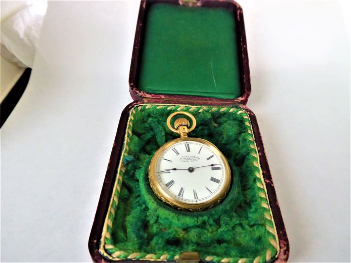 Waltham -  pocket watch.   - Unisex - 1850-1900