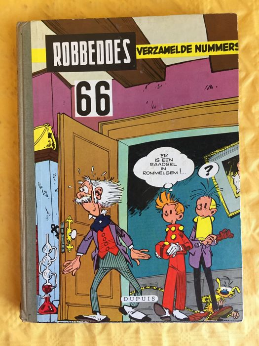 Robbedoes - Verzamelalbum 66 - Hardcover - First Edition (1958)