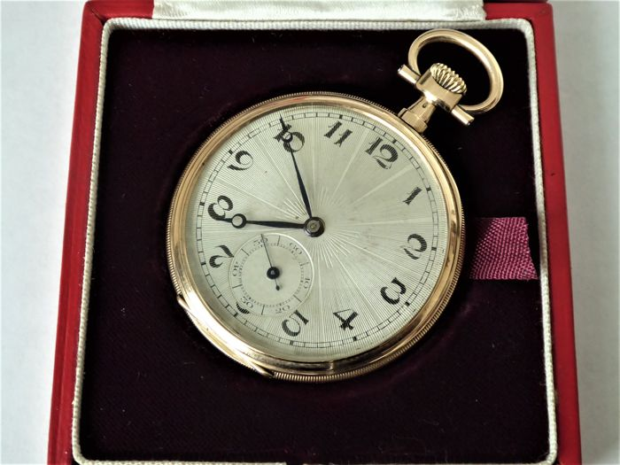 Zenith - swiss gents rare heavy gold pocket watch - Men - 1901-1949