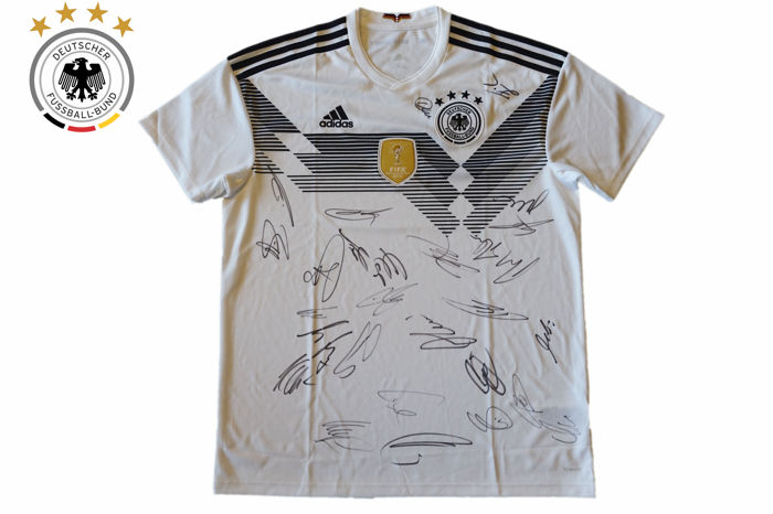 8e8fa9499 DFB Germany Home Jersey FIFA World Cup 2018 * signed by our national-11 *