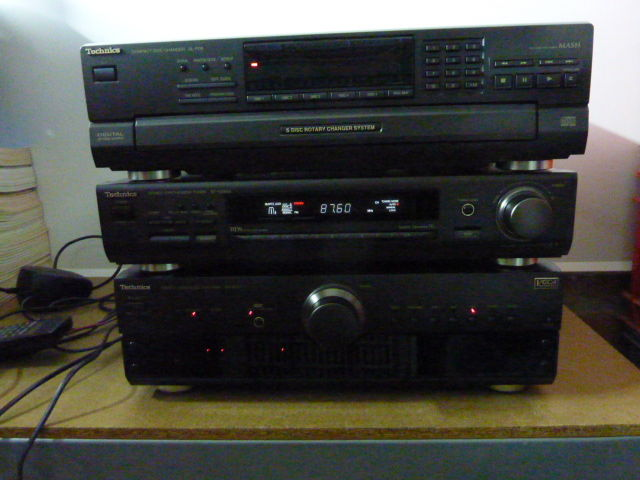 Technics hifi set, amplifier, tuner and cd player - with manual - Catawiki