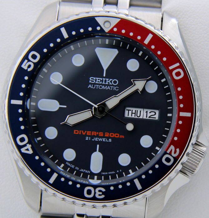 Seiko - Scuba Automatico Diver Jubilee Made in Japan - New - Mænd - 2017