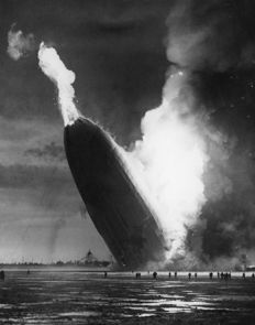 Unknown/Acme Newspictures/AP Wirephoto - The Hindenburg disaster, 1937
