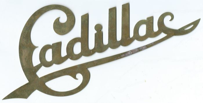Cadillac Very Old Brass Emblem +/- 1920