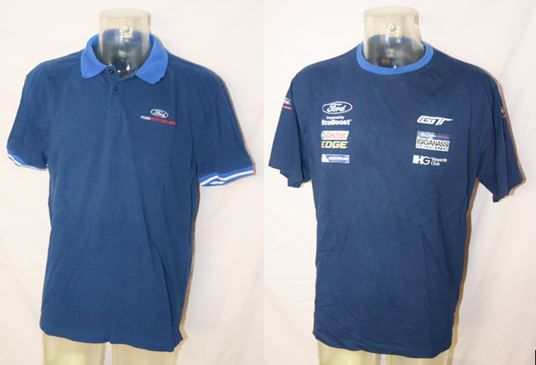 2017 Le Mans / Ford GT Chip Ganassi Racing Team / Driver Raceday Shirt & Travel Polo XXL