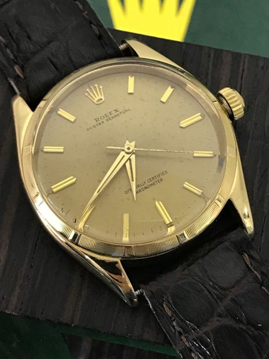 Rolex - Oyster Perpetual 18K Gold - 6565/6567 - Heren - 1960-1969