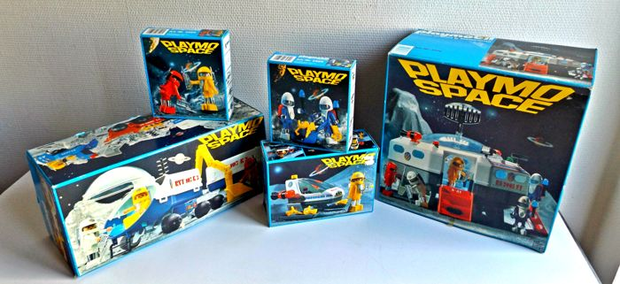 Playmobil Playmospace full boxed collection