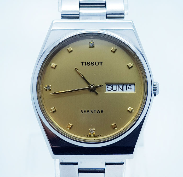 Tissot - Vintage Tissot Seastar Watch  - Heren - 1980-1989