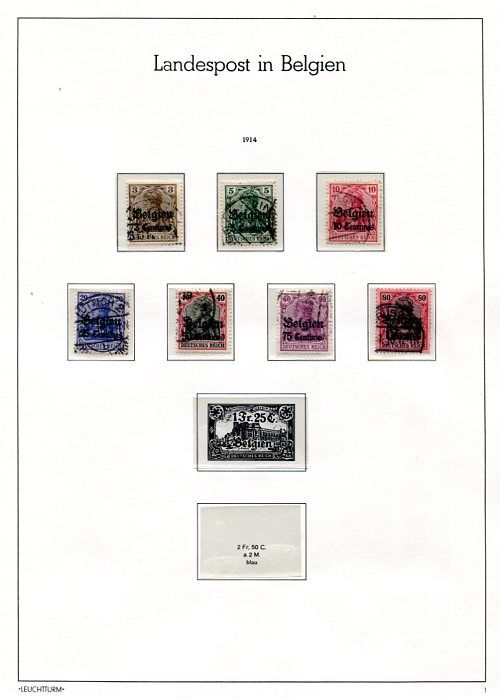 German Occupation issues 1914/1921 - collection.