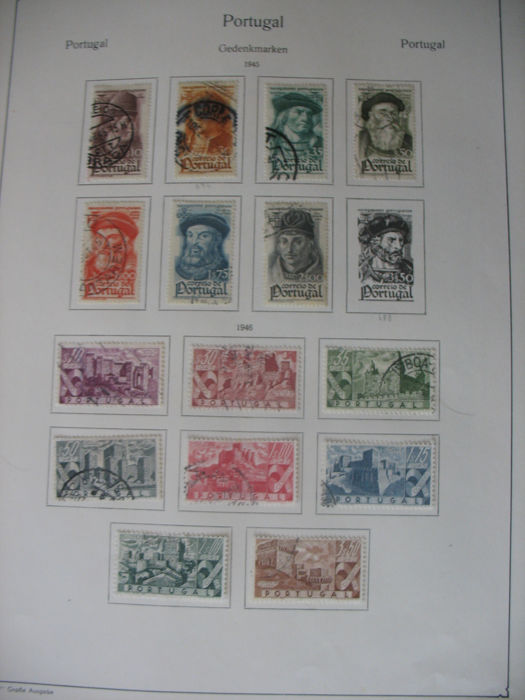 Portugal 1945/69 - stamp collection