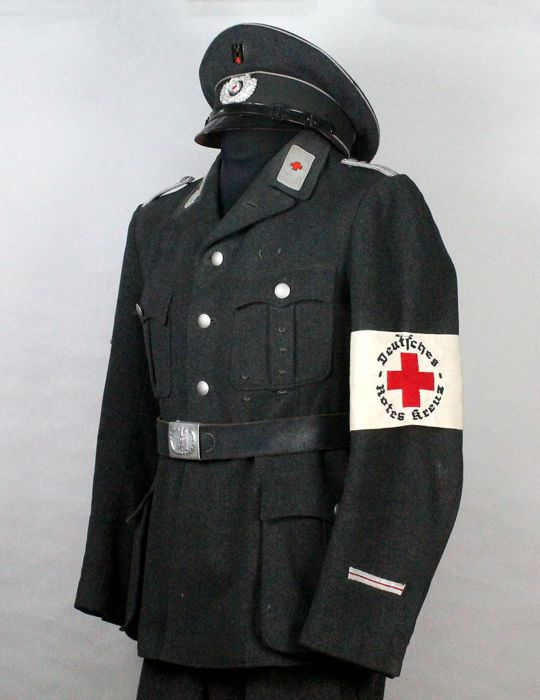 Outfit for Officer of the German Red Cross (Deutches Rotter Kreuz) During the Period of the III Reich.