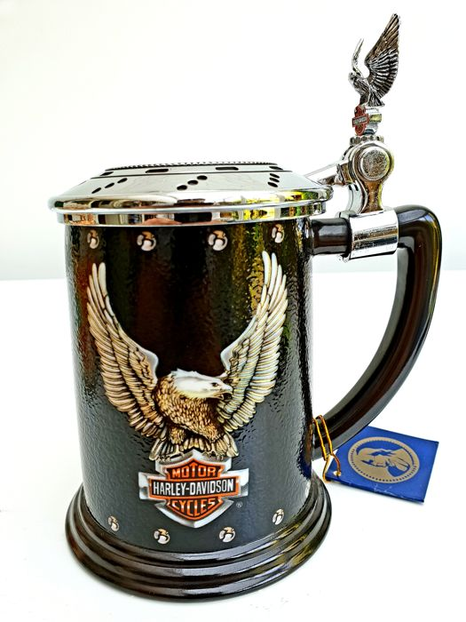 Harley-Davidson - Heritage Softail Collector Tankard - Franklin Mint
