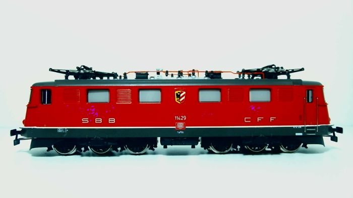Märklin H0 - 3332 - Electric locomotive - Serie Ae 6/6 - SBB-CFF