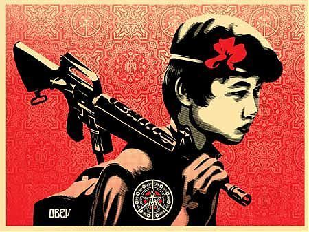 Shepard Fairey (OBEY) - Duality Of Humanity