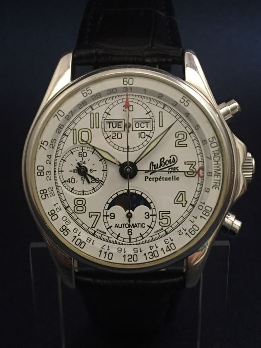 Edition Fils philippe du bois fils moon phase chronograph limited edition