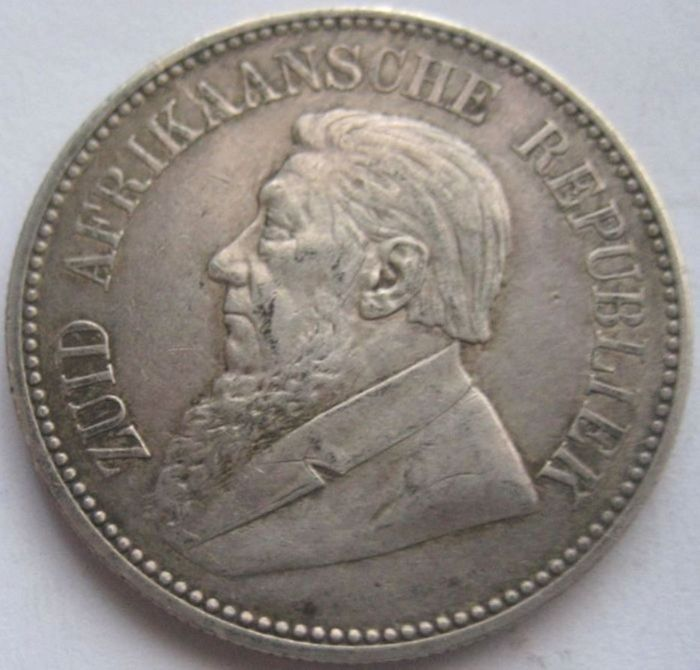 South Africa - 2½ Schilling 1897 - silver