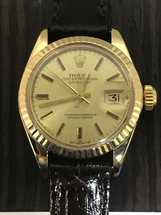 Rolex - Oyster Perpetual Datejust President - 6917 - Women - 1970-1979