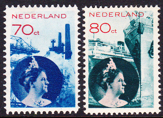 The Netherlands 1931 - Photo montage - NVPH 236/237
