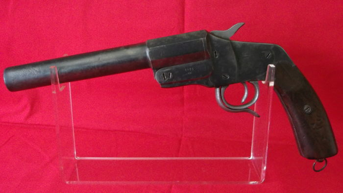 Flare pistol German HEBEL WW1 of pioneers 1913