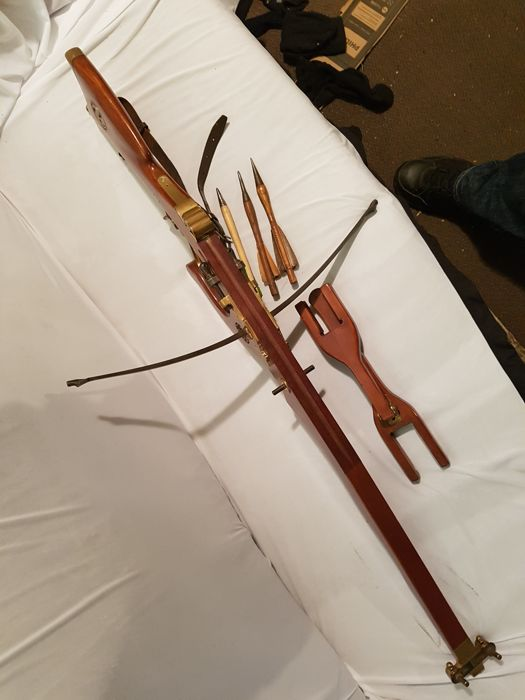 handmade crossbow