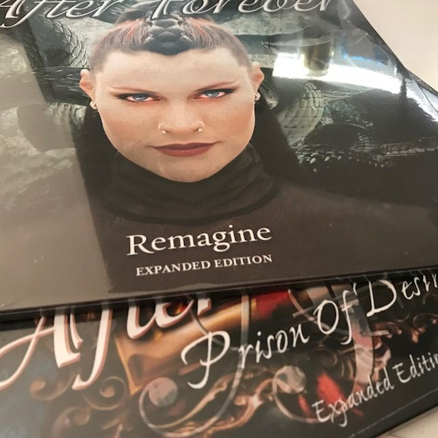 After Forever - Lot of 2 limited Expanded Edition 2LPs: Prison Of Desire and Remagine
