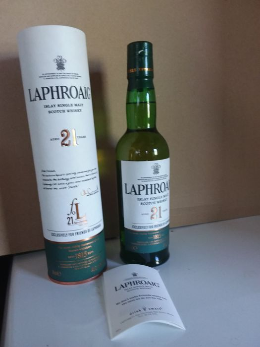 Laphroaig 21 years old - Exclusively for Friends of Laphroaig - 35cl
